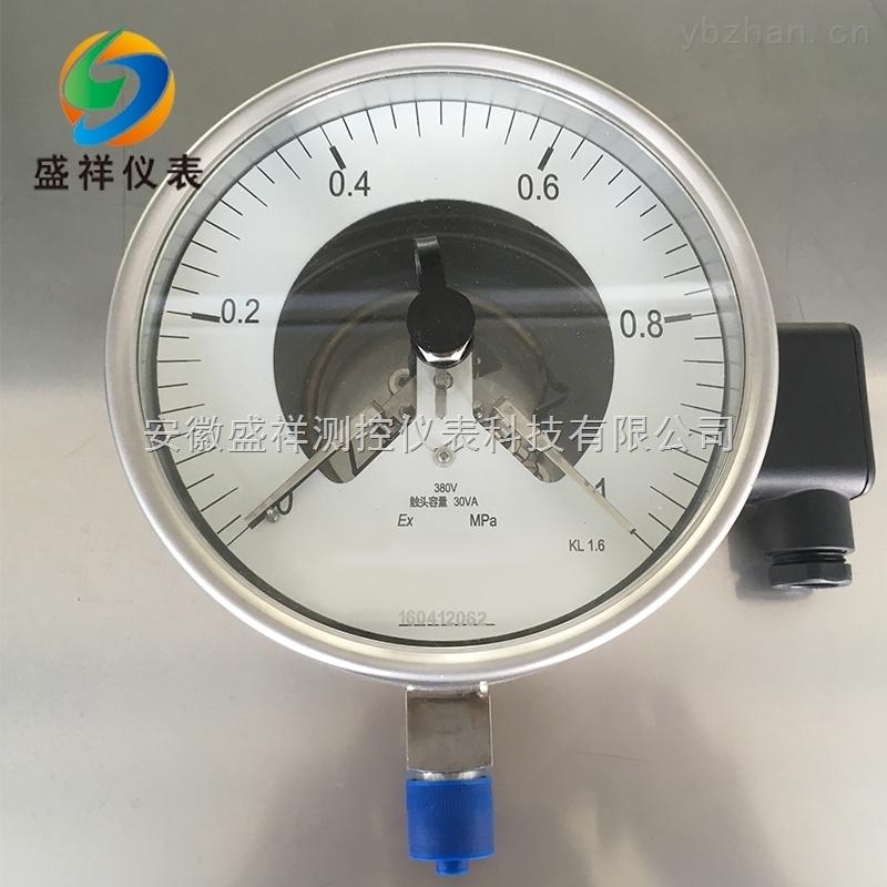 YXC-100B-不锈钢电接点压力表