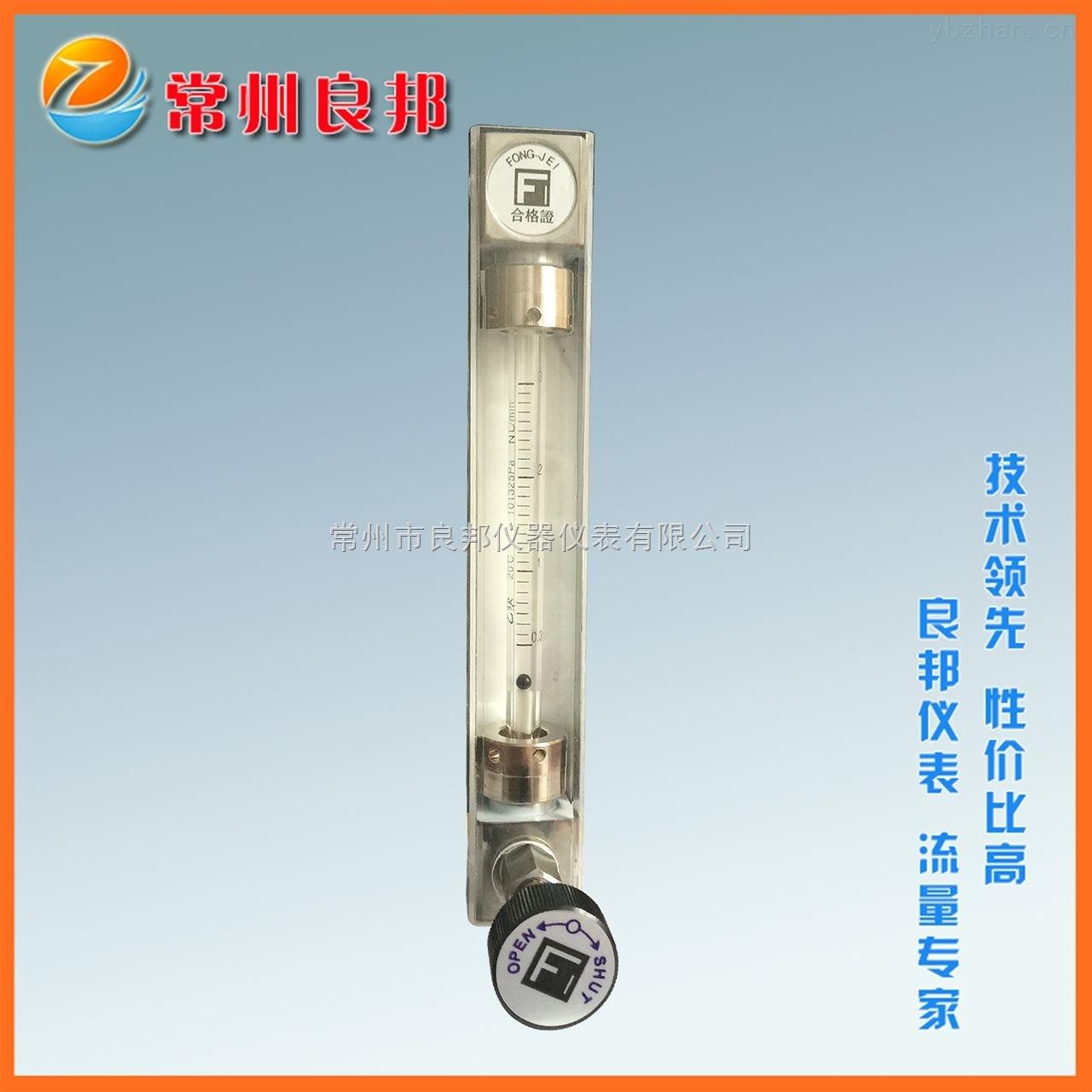 氮气玻璃转子流量计 fong jei技术国产制造