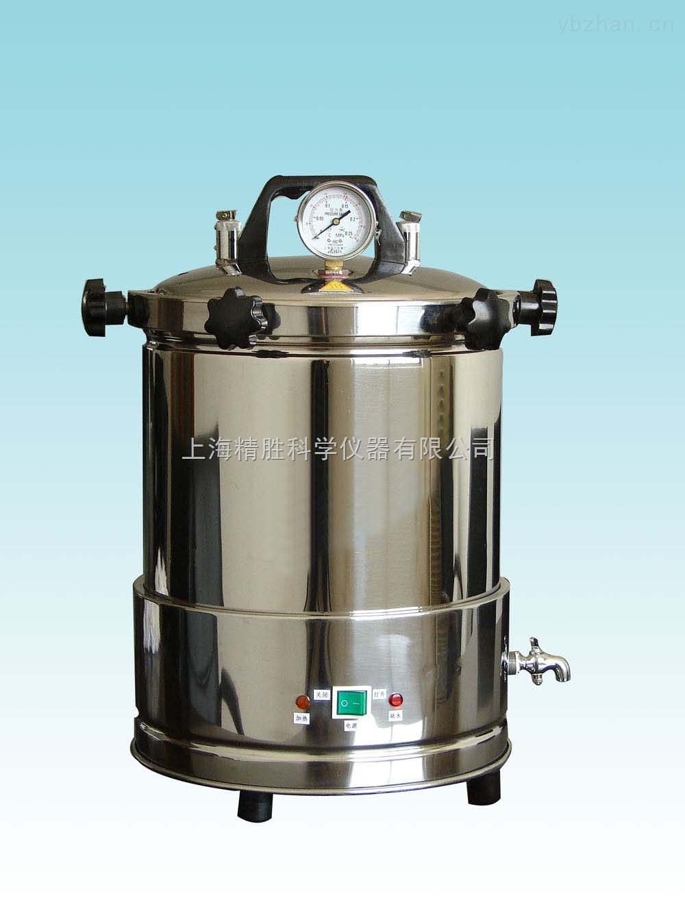 YX280A-手提式不锈钢压力蒸汽灭菌器(定时数控)