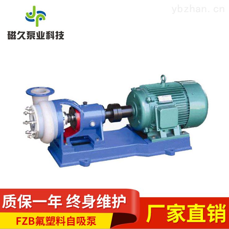 FZB型襯氟塑料耐腐蝕化工泵