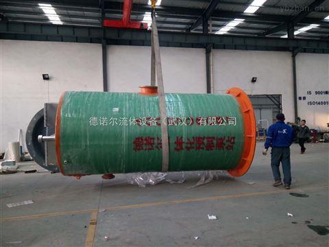 宁夏预制地埋式一体化污水提升泵站 厂家