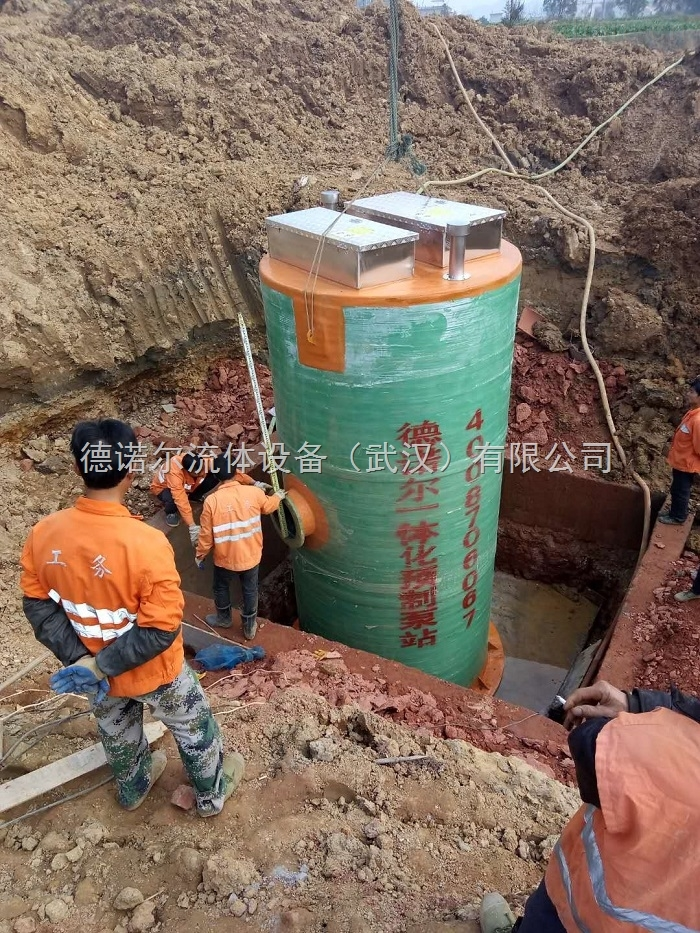 一体化预制泵站品牌/自动清淤除臭