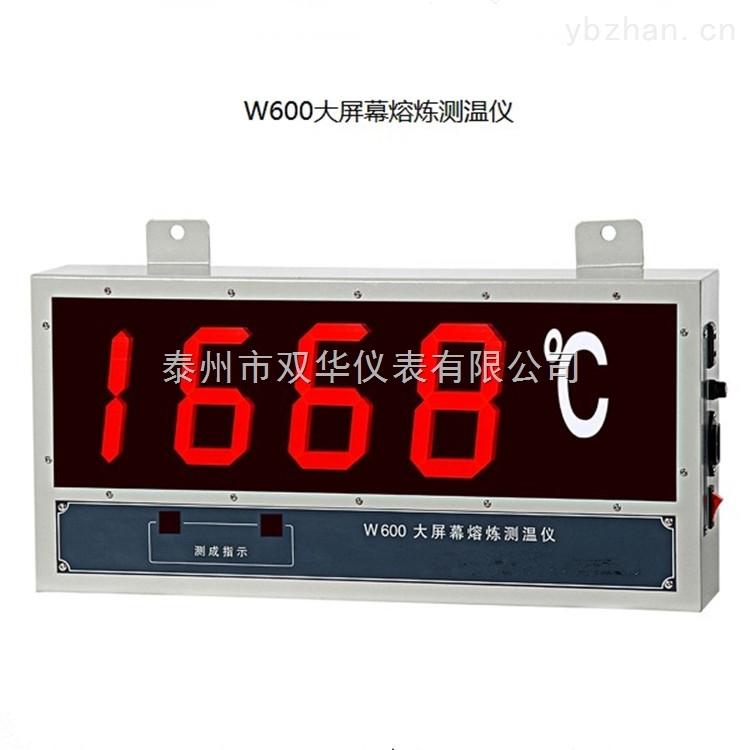 W660-W600大屏幕熔炼测温仪、钢水测温仪
