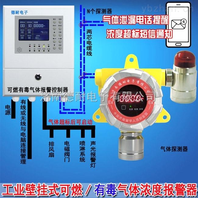 锅炉房液化气泄漏报警器,可燃性气体报警器可以接消防主机吗?