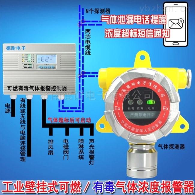 鍋爐房液化氣檢測報警器,氣體泄漏報警裝置安裝接幾根線