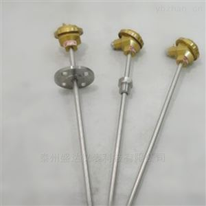 镍铬-镍硅铠装固定螺纹热电偶WRNK-231
