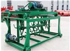 FPJ槽式翻堆机 猪粪发酵4米宽翻抛机价格