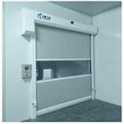 东莞超大风淋室PVC感应快速卷帘门(3m*5m)