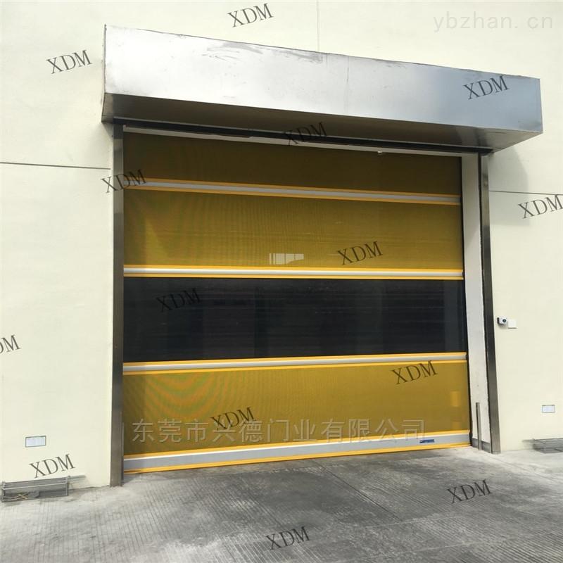 采铝合金高速卷帘门 冷轧钢板快速门价格