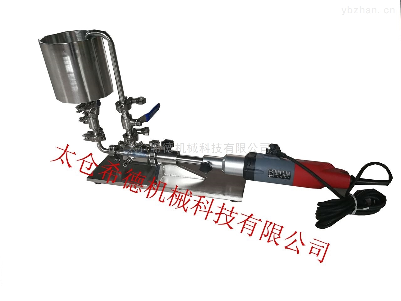 L25-实验室卧式小型管线式乳化机