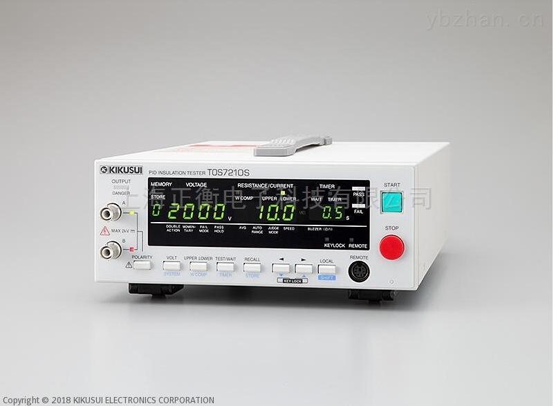 TOS7210S PID绝缘电阻计
