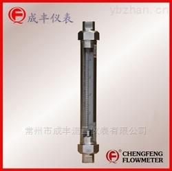 不锈钢材质管螺纹连接的引进玻璃转子流量计