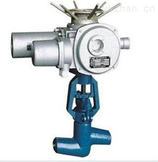 高温高压介质系统电动真空焊接截止阀报价