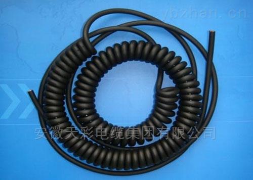 天彩螺旋电缆