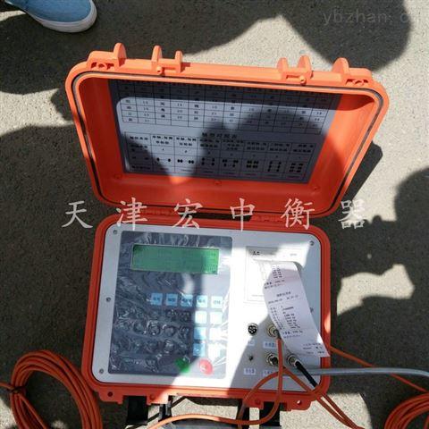 云南50吨四块板便携式检测仪、免基础汽车衡