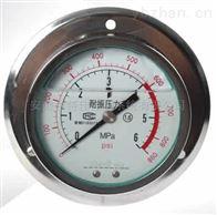 YTN-153B轴向带边耐震压力表