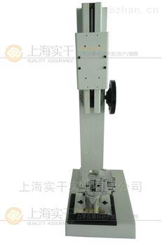 测量纽扣的拉压力用盘结纽扣拉压强度试验机