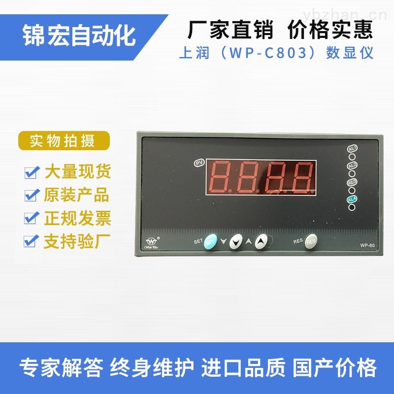 WP-C803智能数显控制仪