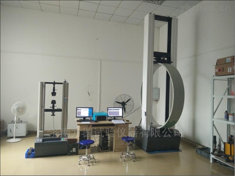当红PE给水管材环刚度试验机和质量走向国际