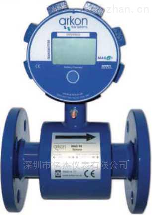 電磁流量計(高精度,低功耗,電池供電)