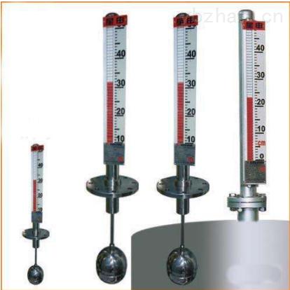 頂裝磁翻柱液位計工作原理
