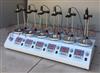 六头数显恒温磁力加热搅拌器