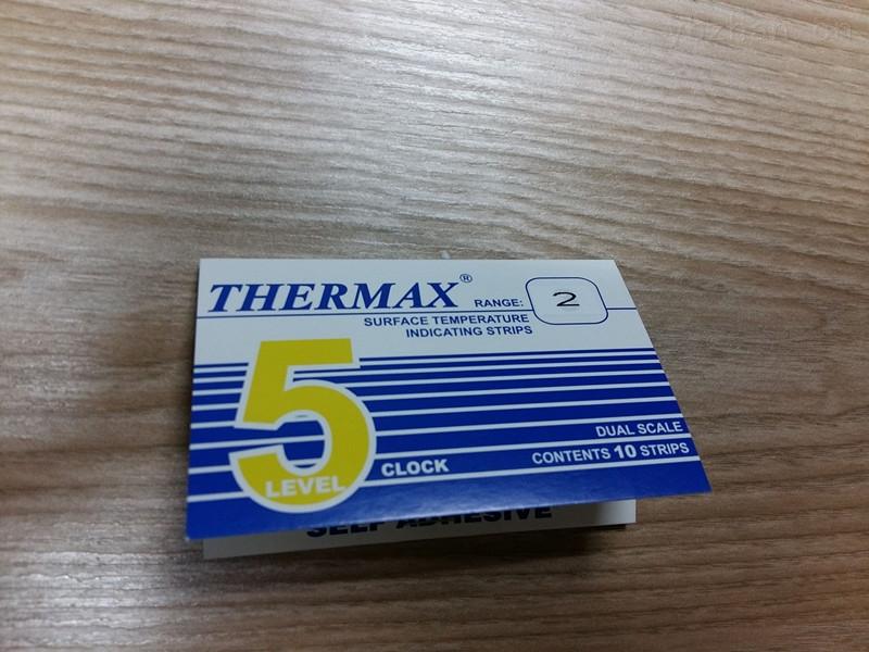 5格2型热敏纸60-82度温度纸英国TMC温度圆形