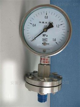 YM--150系列隔膜耐震压力表