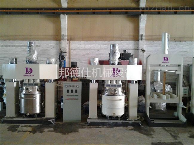 QF5-5000L-深圳实验强力分散机 酸性玻璃胶生产设备