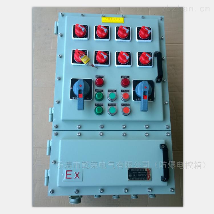 双电源防爆动力箱 防爆动力配电箱