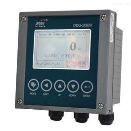DDG-2080X汽水取样架上的比电导率仪