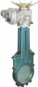 电动调节刀型闸阀