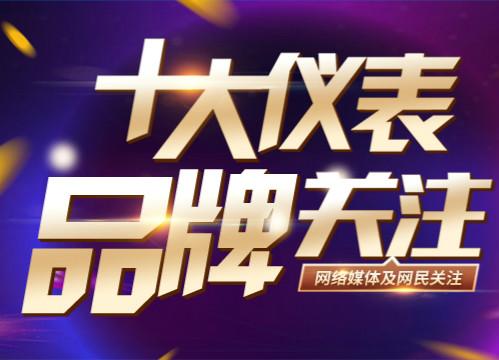 """2018""""十大仪表关注品牌""""流量仪表投票入口已开通"""