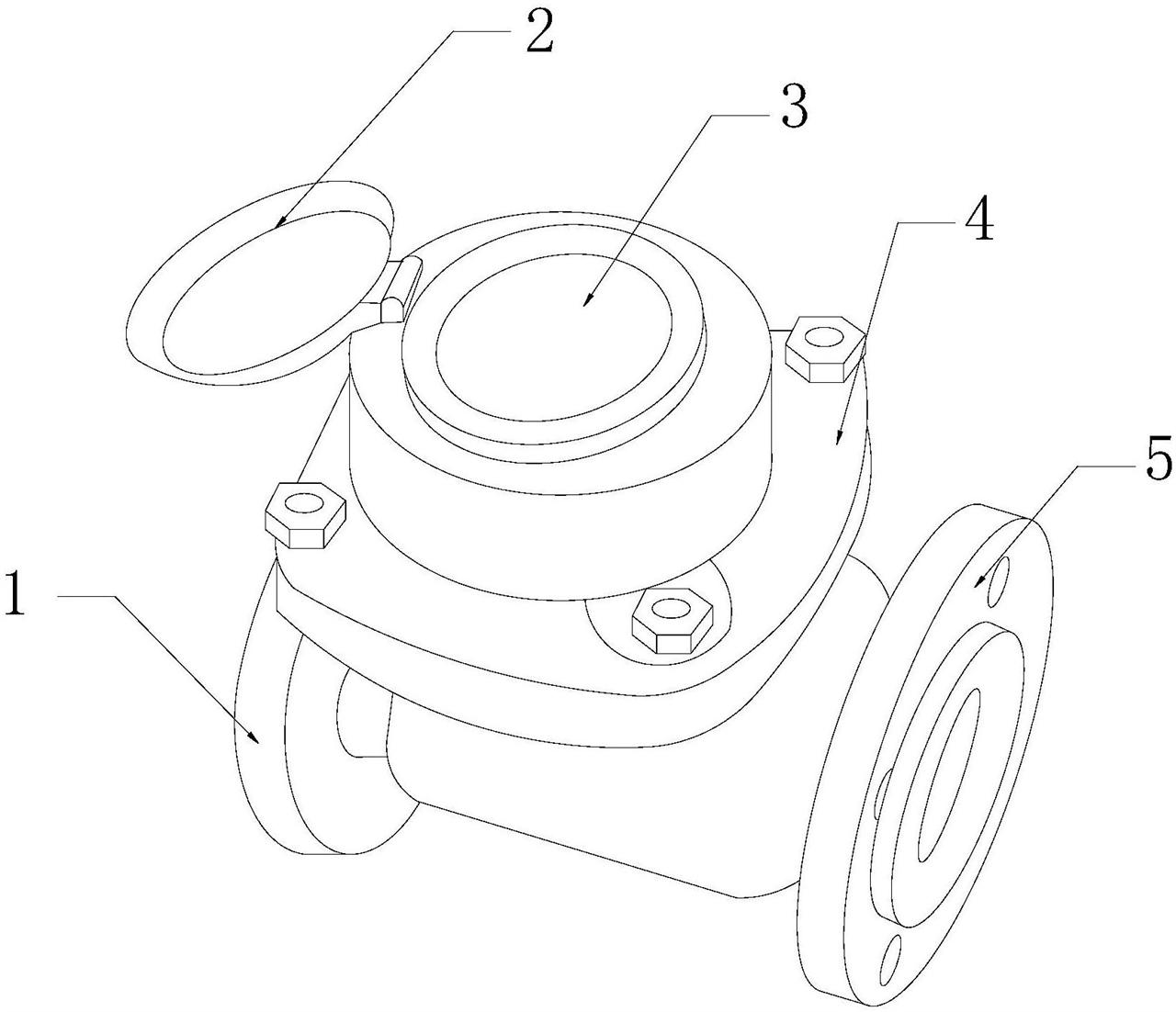 【仪表最新专利】磁感应变开闭的螺翼干式智能水表