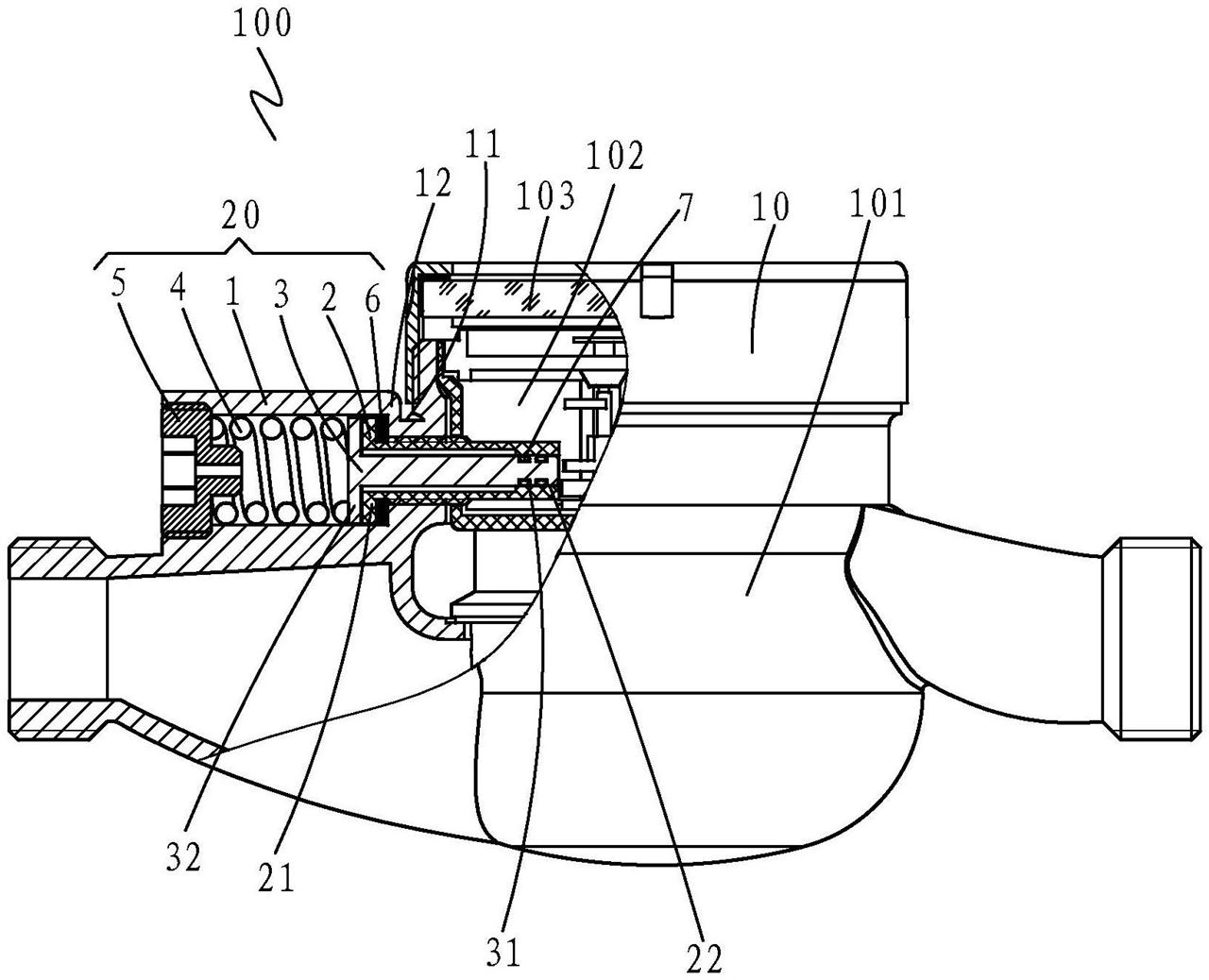 【仪表最新专利】一种防冻水表