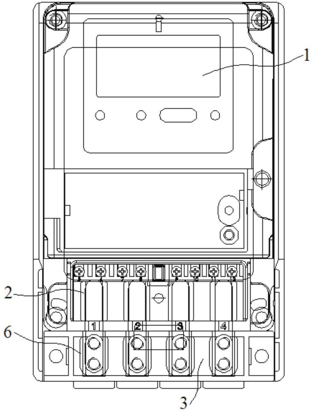 【仪表最新专利】具有快速安装功能的电能表