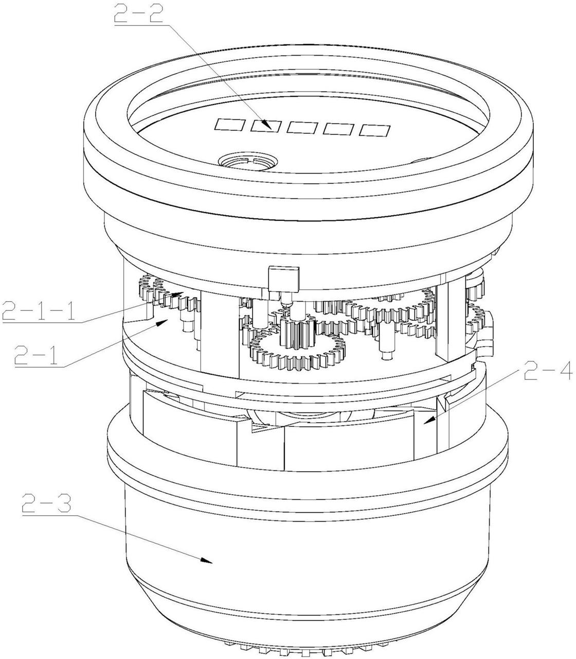 【仪表新专利】一种无源机械式预付费定量售水水表