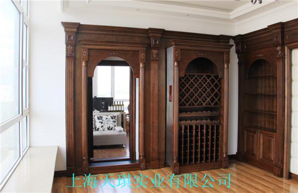 欧式客厅隐形门