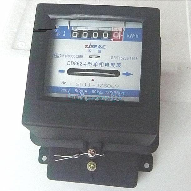 dd862-4 220v 20(80)a单相   dd862-4 220v 20(80)a单相的接线图