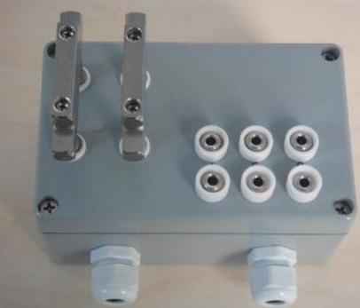 HOLZMEISTER霍美思探头盒,铝合金探头盒,木材含水率支架