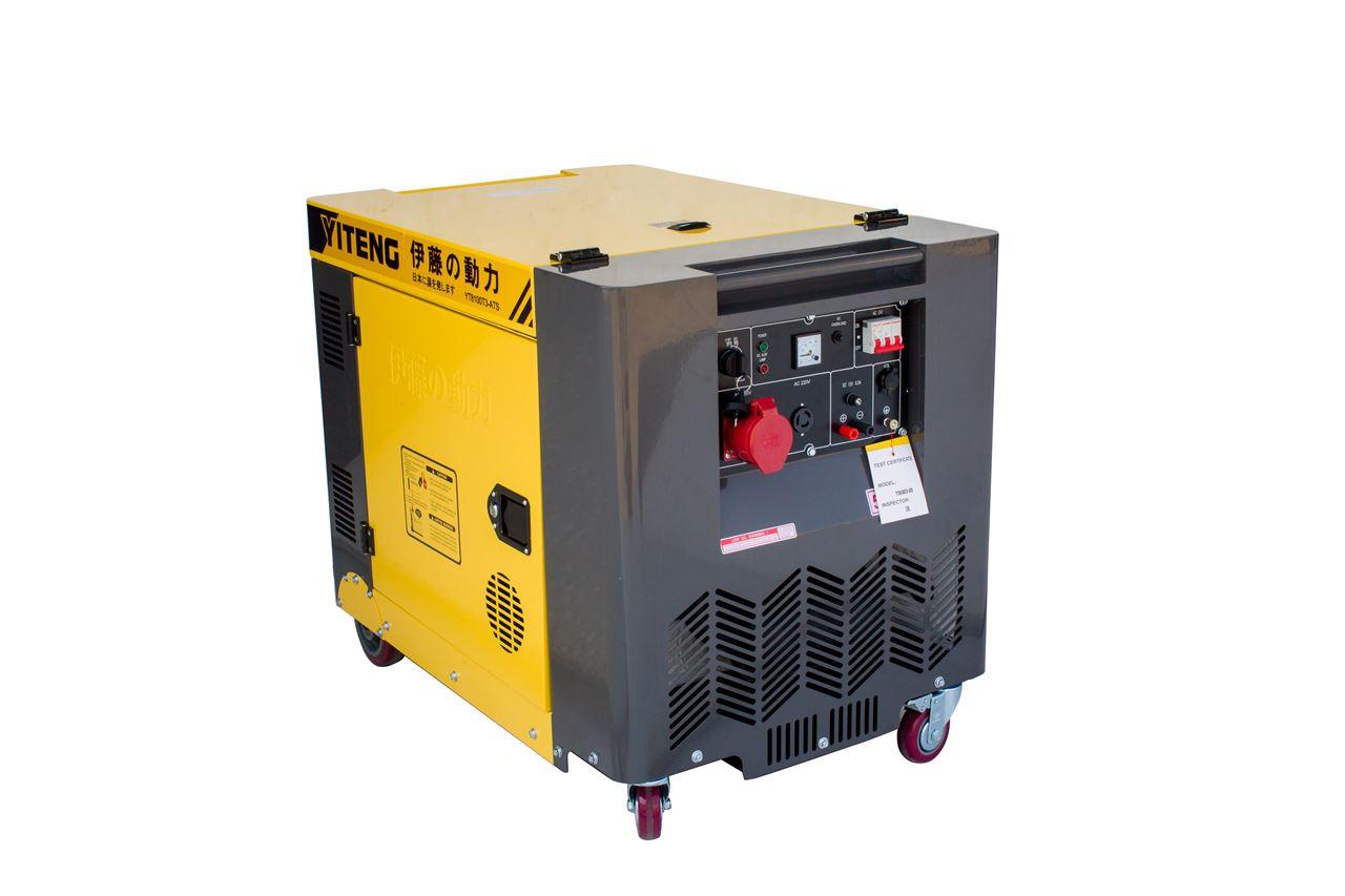 进口8kw全自动三相发电机yt8100t3-ats