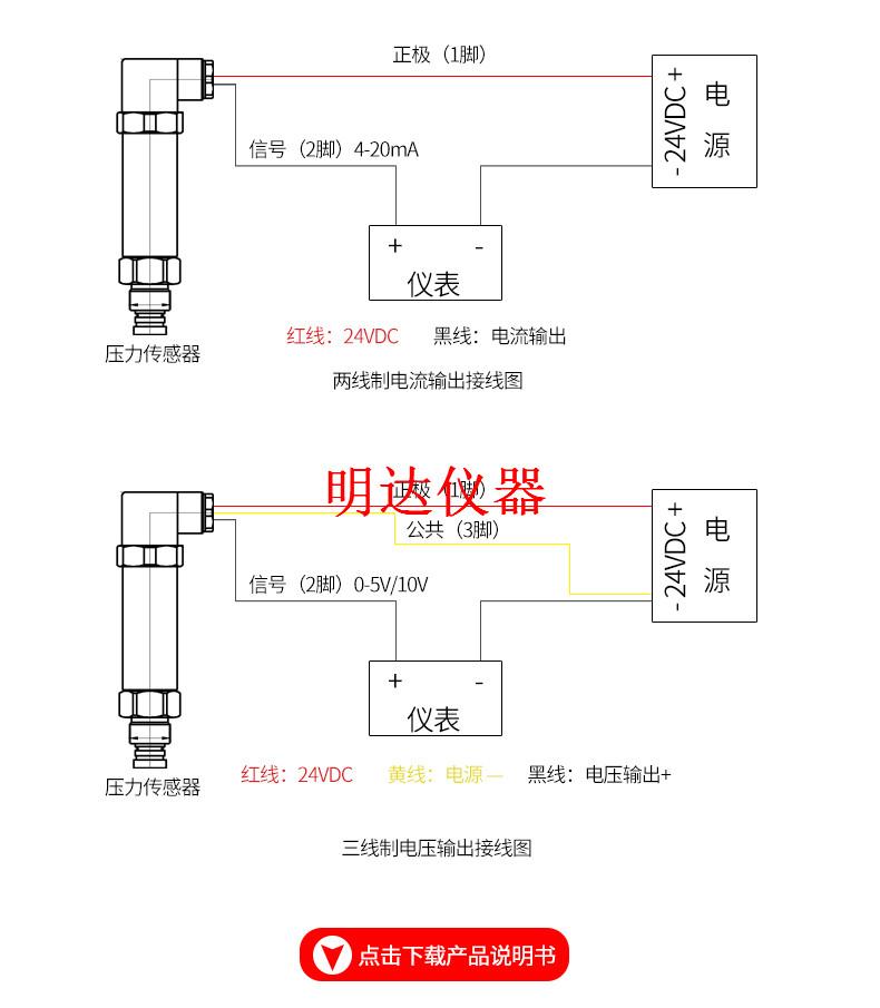 112泥浆隔膜压力变送器