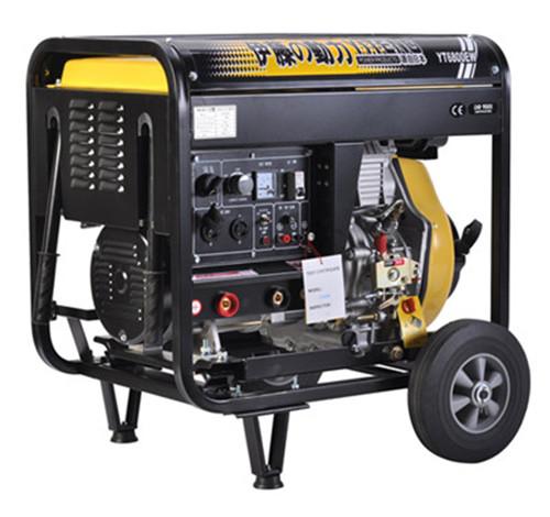 <strong>190A柴油发电电焊机</strong>的实景图1