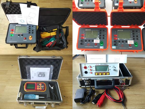 乙级防雷检测设备清单