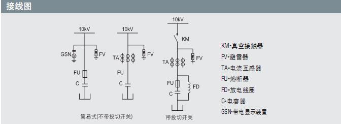 10千伏高压电机接线图